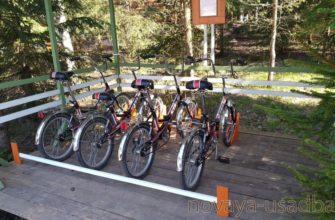 Велосипедные прогулки в Подмосковье